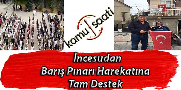 Kayseri İncesu İlçesi Muhtarları ve Mustafa Özkan Anadolu Lisesi Öğrencilerinden Barış Pınarı Harekatındaki Mehmetçiğe Anlamlı Destek