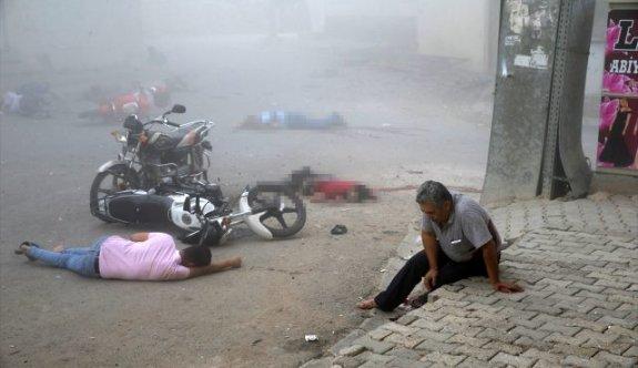Mardin Nusaybin'de büyük saldırı, 8 şehit, 35 yaralı