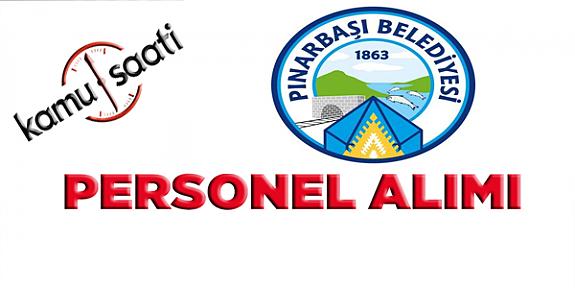 Pınarbaşı Belediyesi Personel Alımı