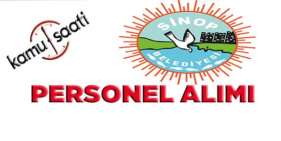 Sinop Belediyesi Personel Alımı