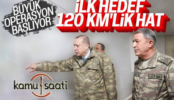 Suriye'ye Operasyon Başladı mı? Öncelik 120 Km'lik Hat