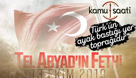 Türk Silahlı Kuvvetleri Tel Abyad'ı YPG'li Teröristlerden Temizledi
