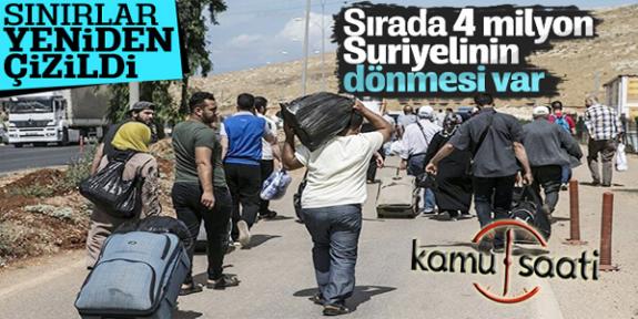 Türkiye'nin Ypg'li Teröristlere Karşı Zaferi Sonrası Suriyelilerde Evlerine Dönecek