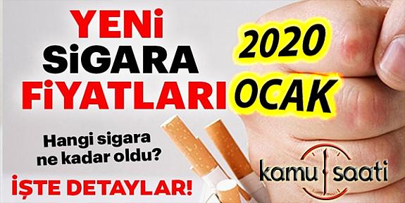 2020 Yılbaşında Sigaraya Ne Kadar Zam Gelecek? | 2020 Zamlı Sigara Fiyat Listesi