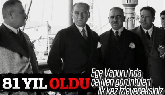Atatürk'ün 1930'da Çekilen Fotoğrafları