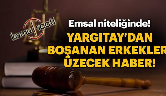 Boşanma Davasında Yargıtay'dan Emsal Bir Karar Daha..