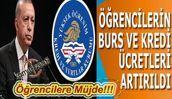 Erdoğan Açıkladı: Öğrencilerin Lisans Öğrenim Kredisi ve Bursu 550 Liraya Çıkıyor