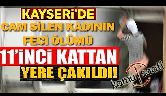Kayseri'de Cam Silerken 11. Kattan Düşen Kadın Öldü