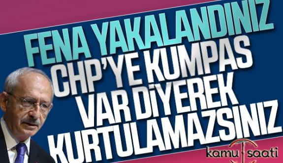 Kılıçdaroğlu: Bize kumpas kurdular | Chp'ye Kumpas İddası Kurtarmaz Kılıçdaroğlu
