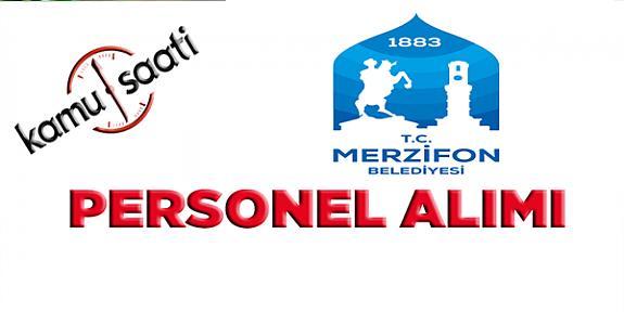 Merzifon Belediyesi 29 İşçi Alacak