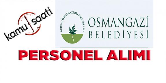 Osmangazi Belediyesi Personel Alımı, İş Başvurusu