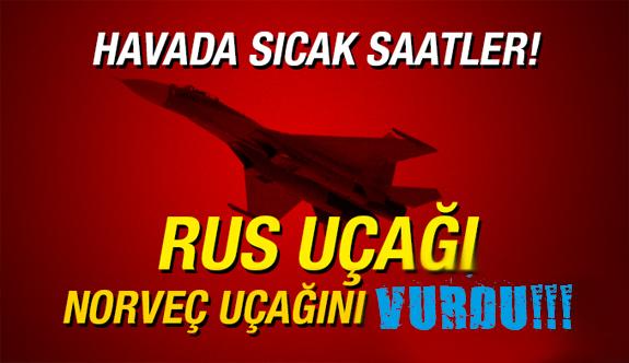 Rusya Norveç F-16 Savaş Uçağını Vurdu Rusya Norveç'e Savaş Açtı