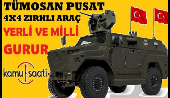 TÜMOSAN PUSAT 4X4 TTZA |Yerli Üretim Son Sistem Taktik Tekerlekli Zırhlı Araç