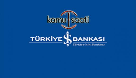 Türkiye İş Bankası Sistem Uzmanı  Personel Alımı İlanı