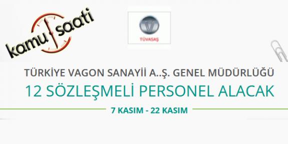 Türkiye Vagon Sanayii A.ş. Genel Müdürlüğü Personel Alımı
