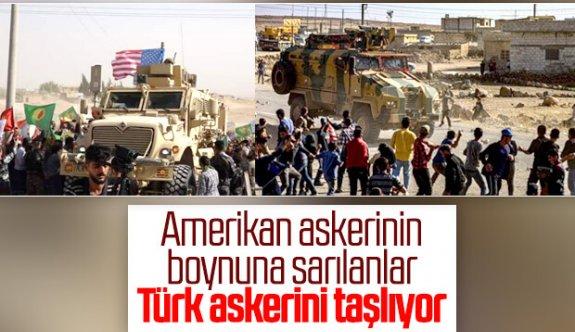 YPG'liler Türk Askerini Mİ Taşladı?