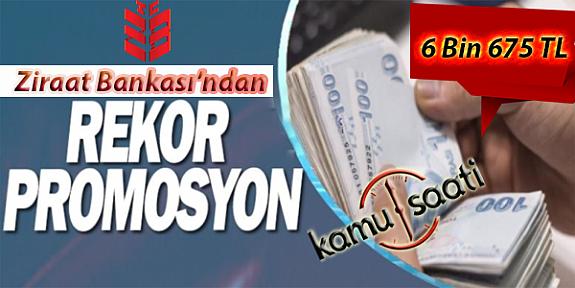 Ziraat Bankası'ndan Kayseri'de Rekor Banka Promosyon Teklifi | En Yüksek Banka Maaş Promosyonu Kaç Lira ?