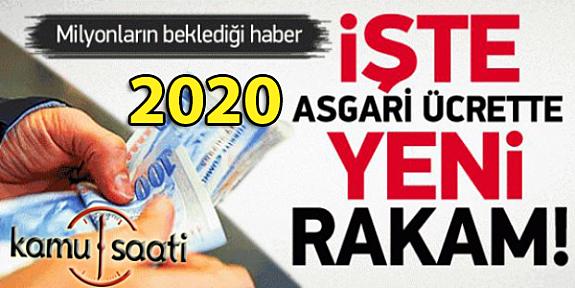 2020 Yılı Asgari Ücret 2324 Lira Oldu !!!