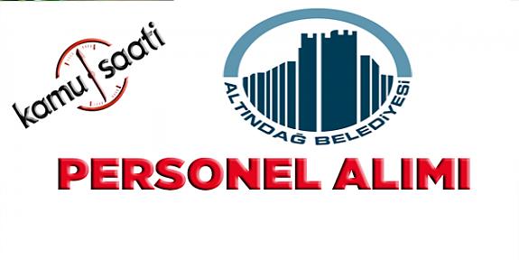 Altındağ Belediyesi Personel Alımı, İş Başvurusu