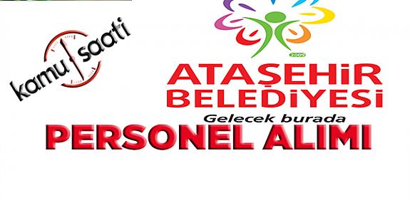 Ataşehir Belediyesi Personel Alımı, İş Başvurusu