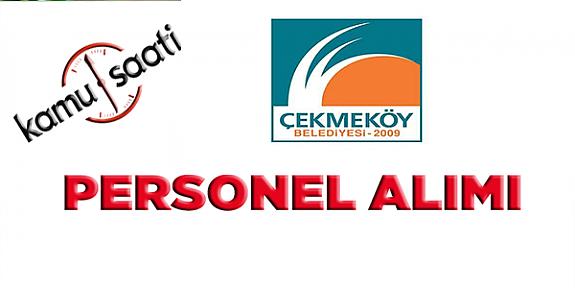 Çekmeköy Belediyesi Personel Alımı, İş Başvurusu