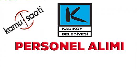 Kadıköy Belediyesi Personel Alımı, İş Başvurusu