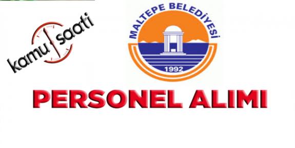 Maltepe Belediyesi Personel Alımı, İş Başvurusu