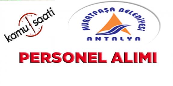 Muratpaşa  Belediyesi Personel Alımı, İş Başvurusu