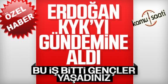 Öğrencilerden Başkan Erdoğan' KYK kredisi Sorusu
