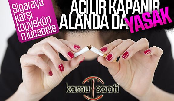Sigara Yasağında Kapsam Genişledi Tiryakiler Bunaldı!
