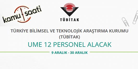 Tübitak Ume Ulusal Metroloji Enstitüsü 12 Personel Alımı Yapacak