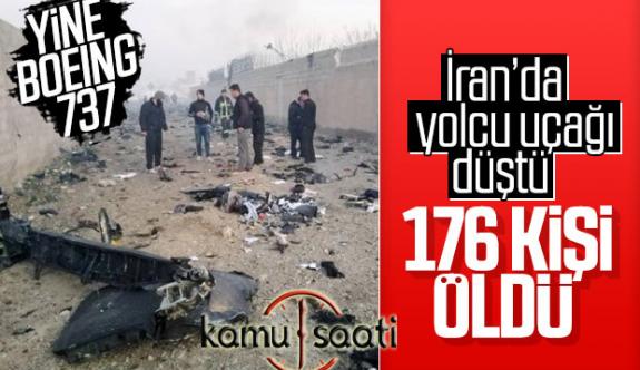 Yine BOEİNG 737 Uçağı Yine bir Kaza ..İran'da Düştü!