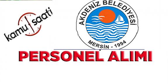 Akdeniz Belediyesi Personel Alımı, İş Başvurusu