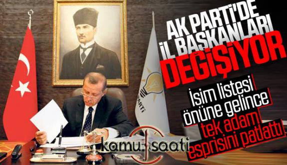 AKP'de İl Başkanları Değiştirilyor!