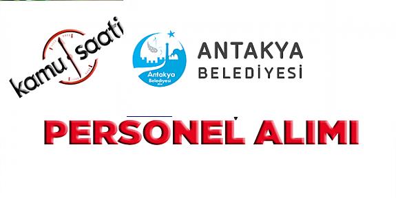 Antakya Belediyesi Personel Alımı, İş Başvurusu