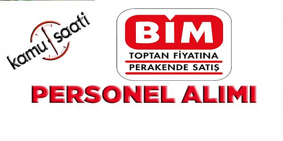 BİM Birleşik Mağazaları Kasa Reyon Personeli İşe  Alım İlanı