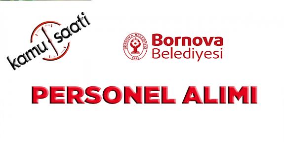 Bornova Belediyesi Personel Alımı, İş Başvurusu