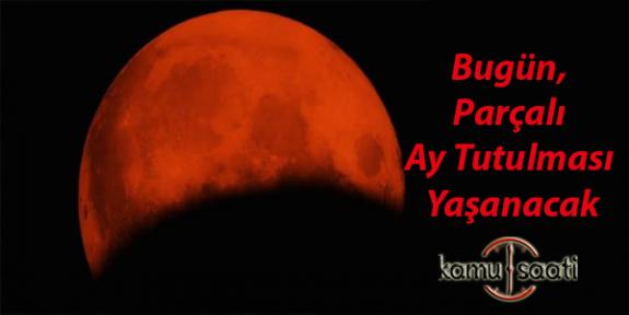 10 Ocak 2020 Ay Tutulmasını İzlemeyi Unutmayın