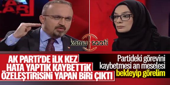 Bülent Turan, AK Parti'deki Özgüven Eksikliğinden Şikayetçi | Gerçeklerin Gayet Farkında