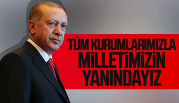 Cumhurbaşkanı Erdoğan, Elazığ'daki depremde hayatını kaybedenlere Allah'tan rahmet, yaralılara acil şifalar diledi.
