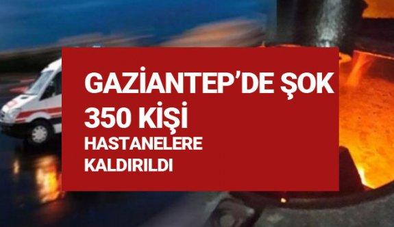 Gaziantepde Lodos Şoku, sobadan zehirlenen 350 kişi hastaneye kaldırıldı!