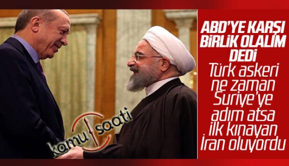 İran Cumhurbaşkanı Ruhani, Türkiye'den Yardım İstedi
