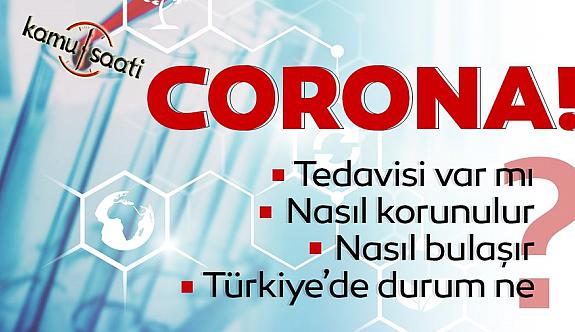 Corona Virüsü Türkiyede Hızla Can Alıyor!