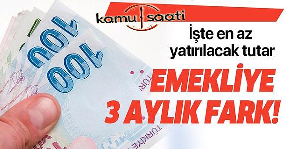 Müjde Bakan Selçuk'tan Geldi! Emekli farkına ait ödemeler başladı..