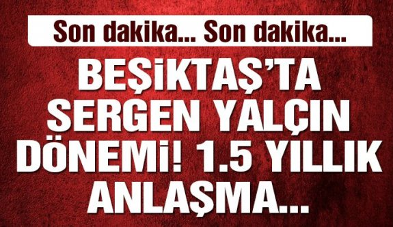 Sergen Yalçın Beşiktaş'la mı Anlaştı 27 ocak 2020