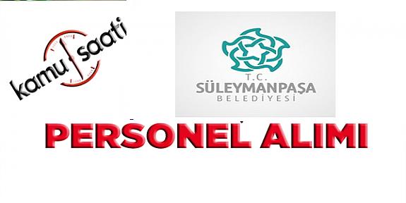 Süleymanpaşa Belediyesi Personel Alımı, İş Başvurusu