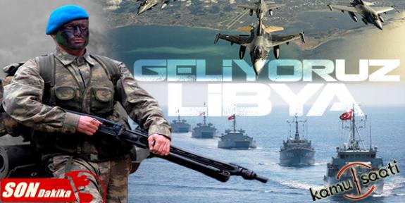 Türkiye Libya'ya Girdi TSK'nın Planı Hazır