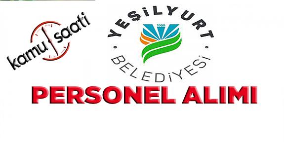 Yeşilyurt  Belediyesi Personel Alımı, İş Başvurusu