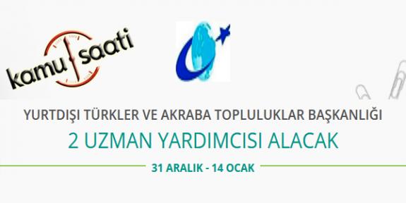 YTB Yurtdışı Türkler ve Akraba Topluluklar Başkanlığı Personel Alımı 2020