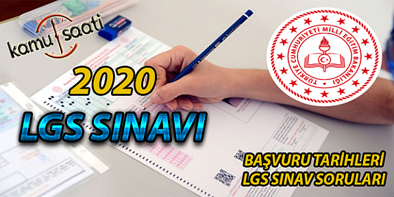 2020 LGS Sınavı Ne zaman? MEB LGS Sınavı Başvuru Tarihleri Belli Oldu